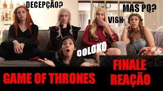 GAME OF THRONES - THE IRON THRONE REACTION - S8 EP6 FINALE