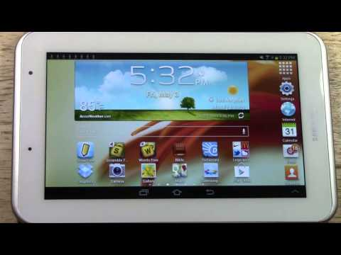 Galaxy Tab 2 7.0 - How to Get Free Apps​​​   H2TechVideos​​​