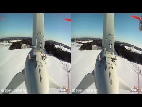 HD 3D FPV - 3D Winter - RCExplorer (2 GoPros) (Aerial video)