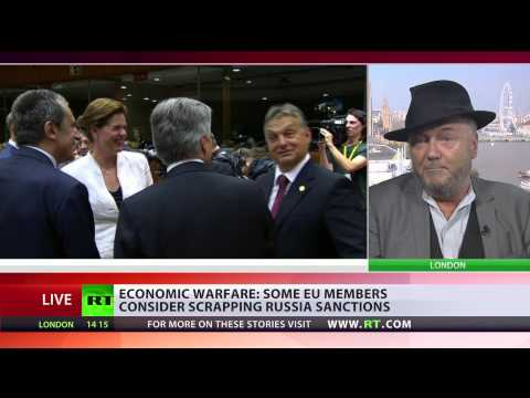 George Galloway: EU is locked in a crazy policy of aggression against Russia