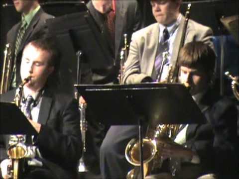 Xavier High School Jazz Band 2013 I'll Be Around - 04/16/2013