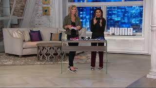 PUMA Mesh Slip-On Ballet Sneakers - Vega Ballet Mesh on QVC
