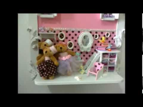 Porta Maternidade Familia de Ursos - Sofia Atelier