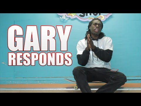 Gary Responds To Your SKATELINE Comments Ep. 290 - Nollie Heel Mountain, El Toro Scooter Backflip
