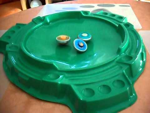 BEYBLADE METAL FUSION EARTH VIRGO VS ROCK LEON VS STORM PEGASUS