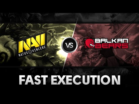 Fast execution by NaVi vs Balkan Bears Corleone The Summit 2
