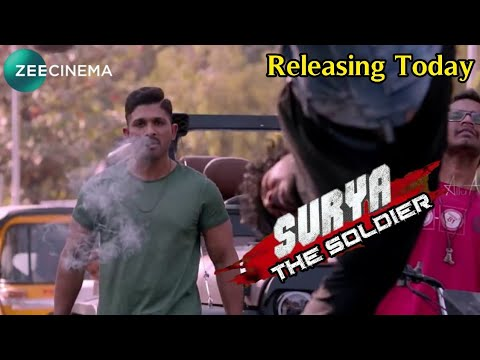 Surya The Soldier Hindi Dubbed Full Movie | Allu Arjun | Releasing Today