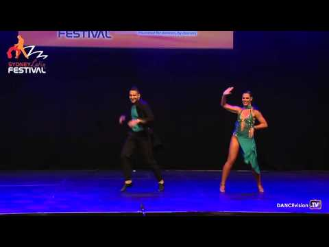 James & Elysia - Spin City Dance - 2016 Sydney Latin Festival
