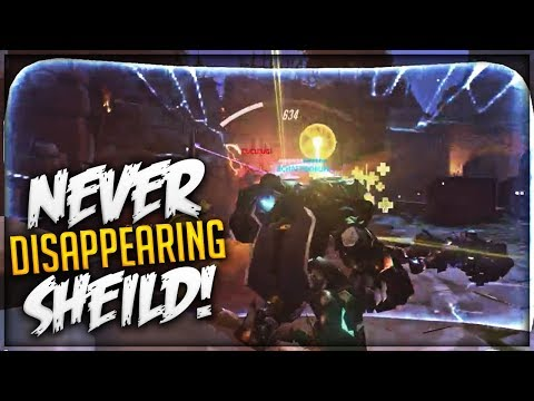 OVERPOWERED REINHARDT GLITCH!- OVERWATCH WTF FUNNY MOMENTS MONTAGE!
