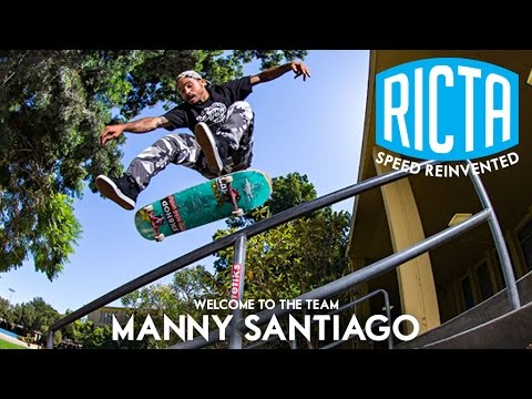 Welcome to the Team: Manny Santiago