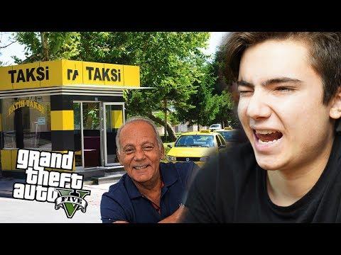 GTA 5 GERÇEK HAYAT ! - Taksi Durağı Artık Benim !