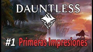 DAUNTLESS #1 - El Monster Hunter gratuito para PC (Gameplay Español)