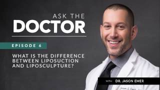 Liposculpture vs Liposuction | What is the Difference? | Ask the Doctor
