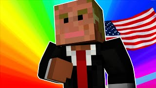 DONALD TRUMP! | Minecraft Hide N Seek