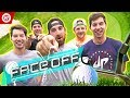 Dude Perfect Golf FACE OFF | Jon Rahm & Wesley Bryan