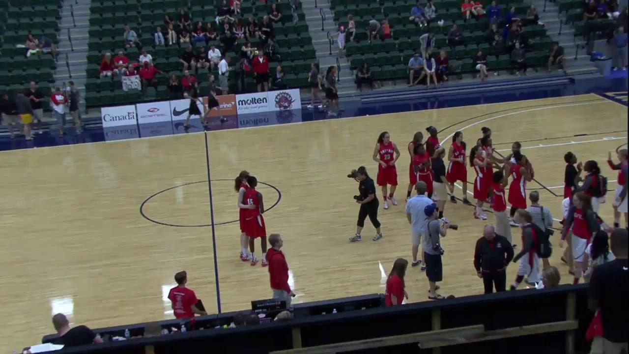 Gold Medal Game - U15 Girls - Quebec vs. Ontario