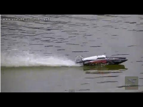 Turnigy Centurion RC Boat Maiden Testing