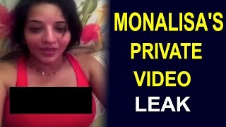 Bigg Boss Contestant Monalisa's Steamiest Private Video Leak, Goes Viral On Internet