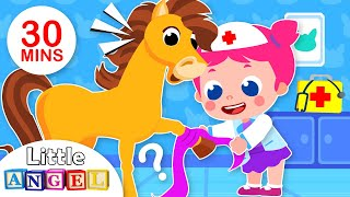 I Want to be a Vet   What Do You Do?   Kids Songs & Nursery Rhymes by Little Angel
