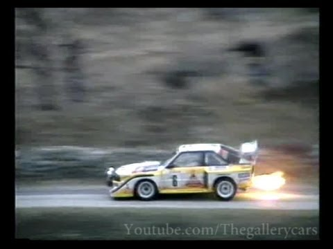 Audi Sport Quattro & Audi Quattro S1 Highlights 1985-86 Part 2