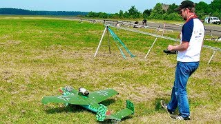 SPEED RC PULSOJET HE-162 WITH TURBINE ENGINE FLIGHT DEMONSTRATION
