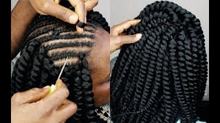VERY EASY: CROCHET BRAIDS UNDER 1 HOUR | HOW TO