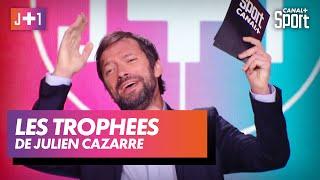Les trophées de Julien Cazarre !