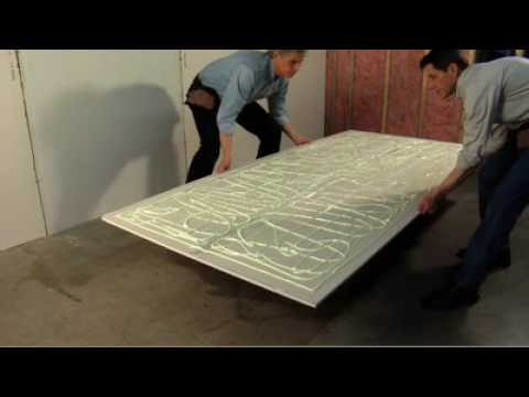 soundproof a room using green glue soundproofing in a tube youtube. Black Bedroom Furniture Sets. Home Design Ideas