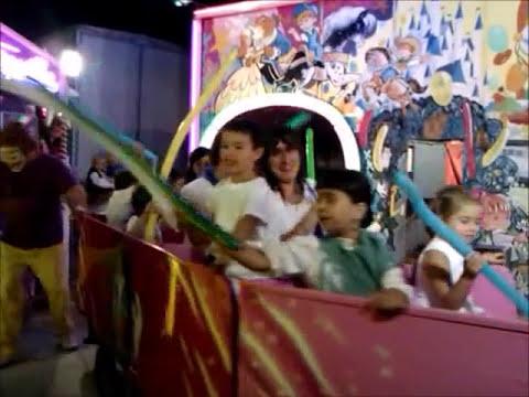 fiestas de tarazona 2011 tren chispita