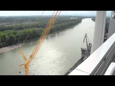 Liebherr - Mobile Crane LTM 1750-9.1 at power plant in Germany