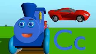 Alphabet Train - Phonics letter C