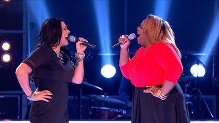 Jade Hewitt Vs Christina Matovu - Battle Performance: The Voice UK 2015 - BBC One