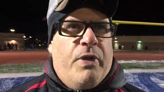 Cedar Springs coach Gus Kapolka says he's proud of team after regional loss to Muskegon
