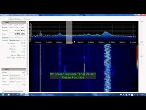 RTL-SDR, SDR#, WFM listening