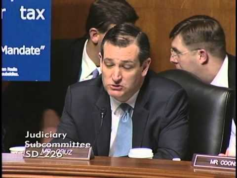 Sen. Ted Cruz Chairs Judiciary Hearing on Obamacare Subsidies (FULL)