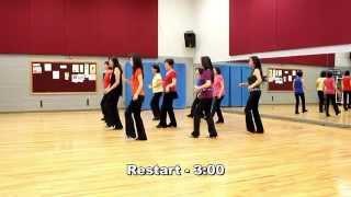 I'm A Tornado - Line Dance (Dance & Teach in English)