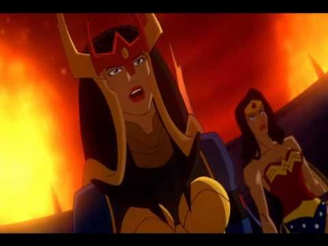 Furies Vs Wonder Woman and Big Barda
