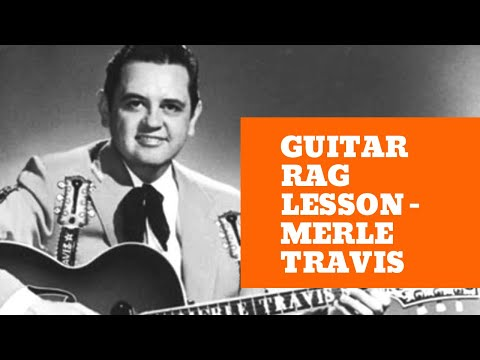 Jim Bruce Blues Guitar - How To Play Guitar Rag - Travis Picking - Part 1 Music Videos