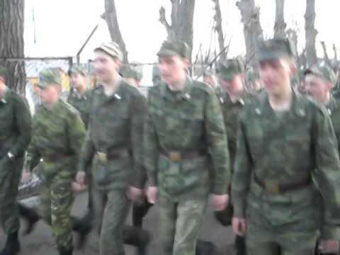 Армейская песня - ГОЛУБАЯ НОЧЬ
