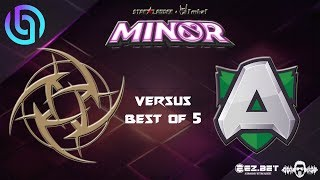 NIP vs Alliance | BIEGAME Prediction | Starladder Minor | GrandFinals | Best of 5