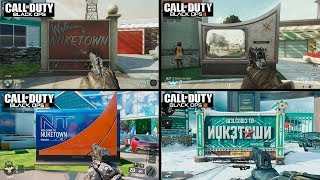 Call of Duty Black OPS 4 | NUKETOWN COMPARISON | All Versions Evolution
