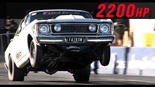2200hp street Falcon by Dandy Engines
