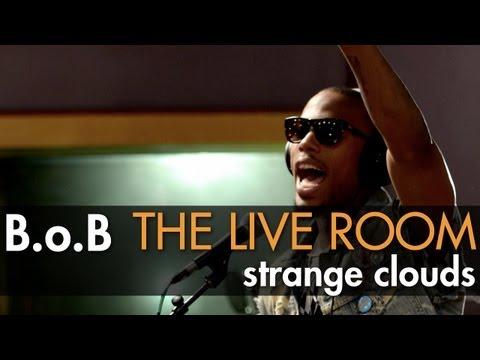 B.o.B - Strange Clouds (Live @ Tree Sound Studios, 2012)