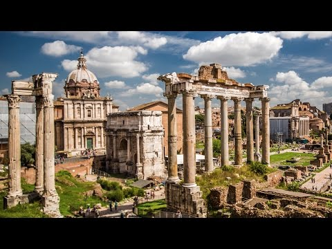 Rome, Pisa & Vatican City in 4k