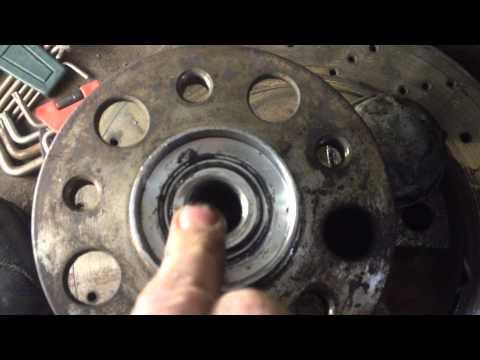Регулировка переднего подшипника ступицы форд фокус 2 ford