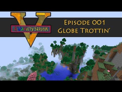 V4Variety Server : 001 : Globe Trottin' : FTB Infinity Evolved Expert Mode