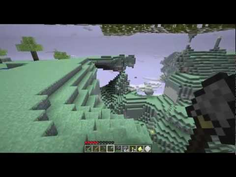 Minecraft Aether Mod Tour - Part 4 (Golden Orbs, Dart Shooter)