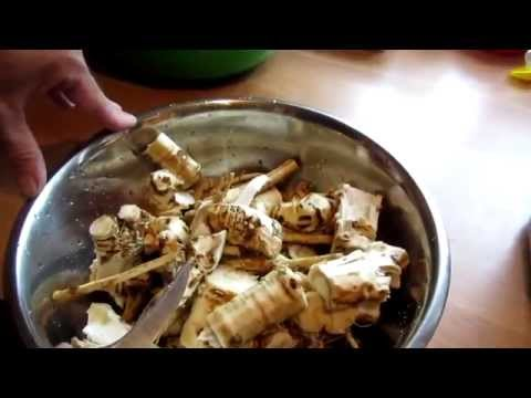 Как готовить хрен - видео