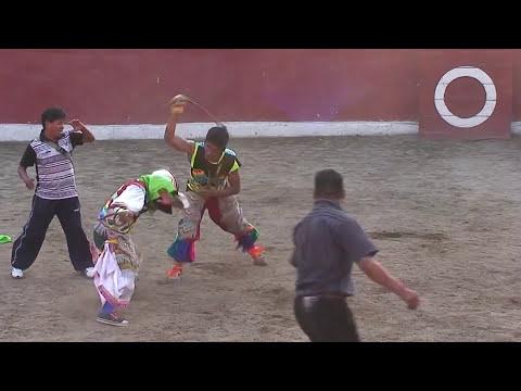Danza de Tijeras Terror de Puquio vs Mana Allin de Huancavelica Huacctanacuy
