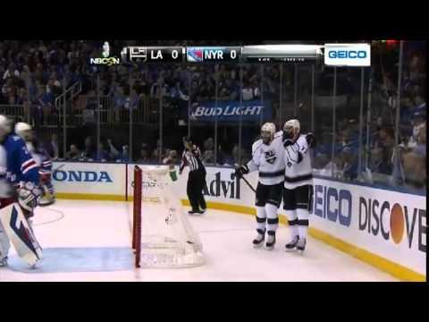 Jeff Carter Goal - LA Kings v NY Rangers - Game 3 - June 9 2014